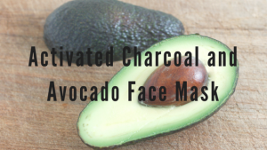 Avocado and Activated Charcoal Face Mask